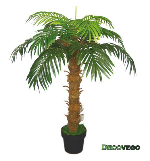 Palmier cocotier plante arbre artificielle artificiel for Arbre artificiel exterieur pas cher