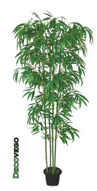 bambus kunstpflanze kunstbaum k nstliche pflanze 180cm decovego. Black Bedroom Furniture Sets. Home Design Ideas
