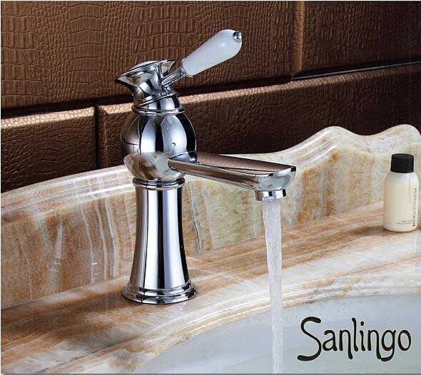 Serie aiko retro bagno rubinetto miscelatore monocomando lavabo cromo sanling - Lavabo colonne retro ...