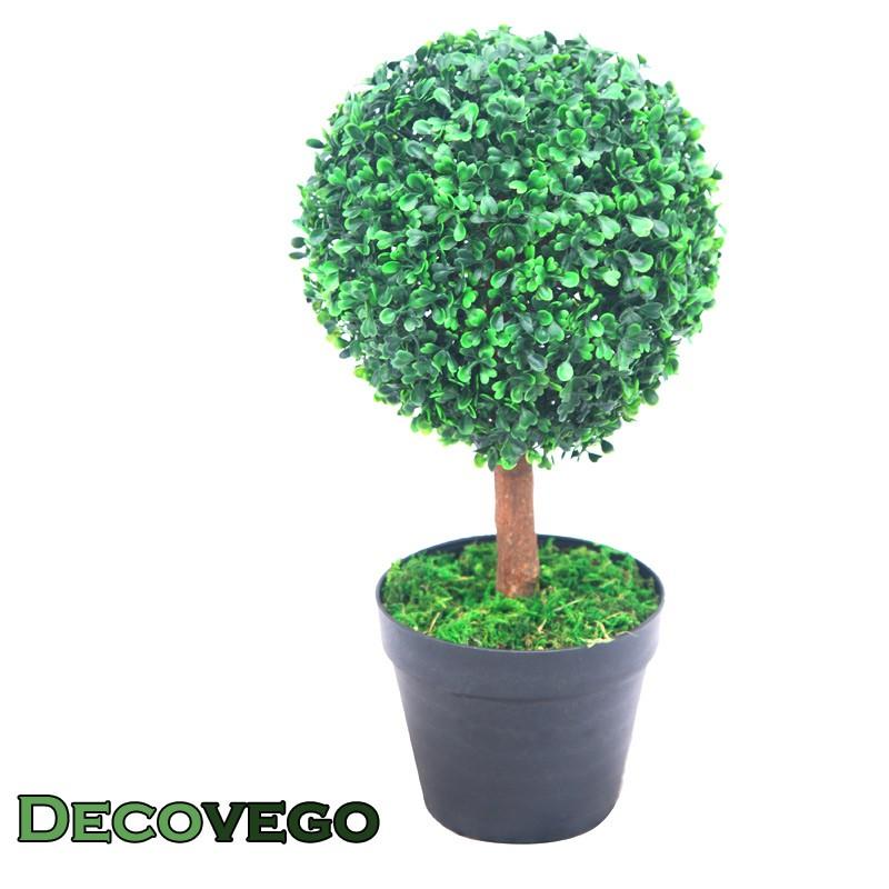 Bosso palla buxus piante artificiale vaso per piante 35m for Bosso in vaso