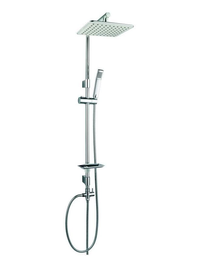 duschset dusche duschstange handbrause regenbrause variable halter sanlingo ebay. Black Bedroom Furniture Sets. Home Design Ideas
