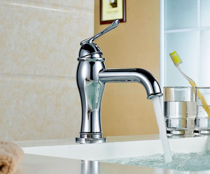 Design bagno lavabo miscelatore monocomando rubinetto - Miscelatore lavabo bagno ...