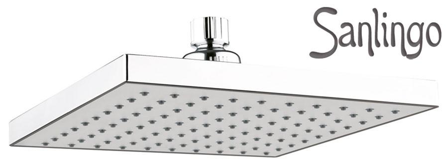 Sanlingo design douche de pluie pomme de douche 20x20cm - Pomme de douche design ...
