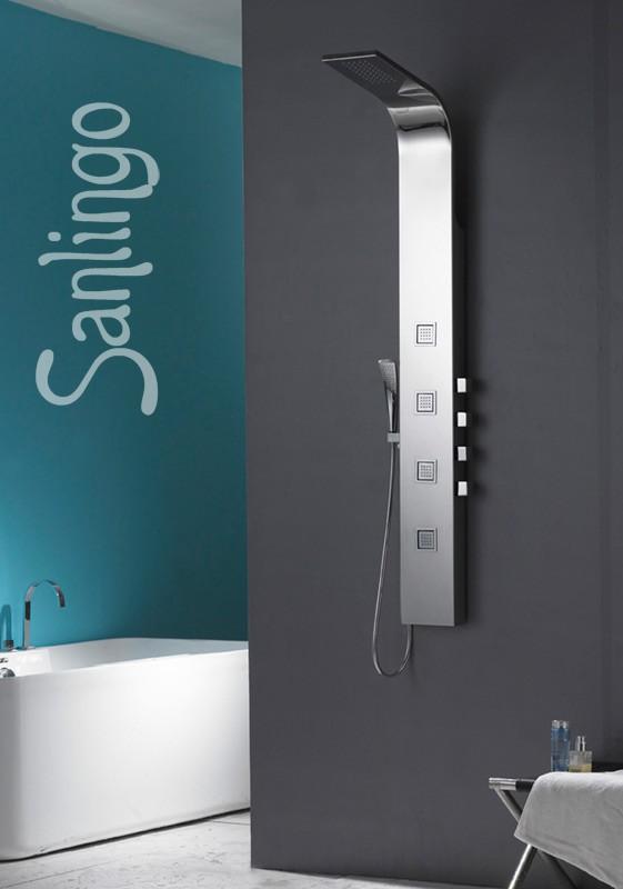 Alcachofa columna ducha acero inoxidable plateado ducha for Alcachofas para ducha