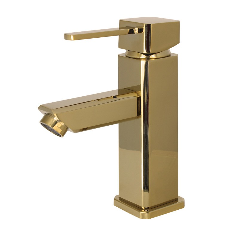 Stanza da bagno lavabo rubinetto miscelatore monocomando - Miscelatore bagno moderno ...