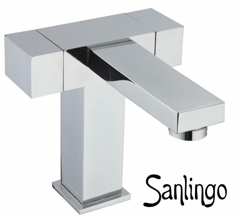 SANLINGO MODERNO DESIGN BAGNO LAVABO MISCELATORE RUBINETTO ...