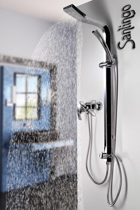 Colonne de douche dans le regard chrom sanlingo ebay - Colonne de douche sanlingo ...