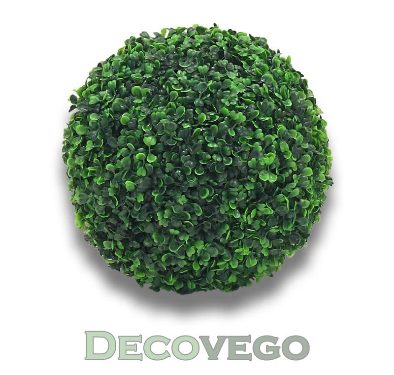 Buis boule de buis plante artificiel artificielle for Boule de buis artificiel pour exterieur