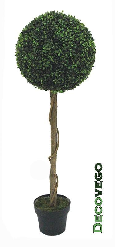 buchsbaum kugel k nstliche pflanze buxus deko blumentopf. Black Bedroom Furniture Sets. Home Design Ideas