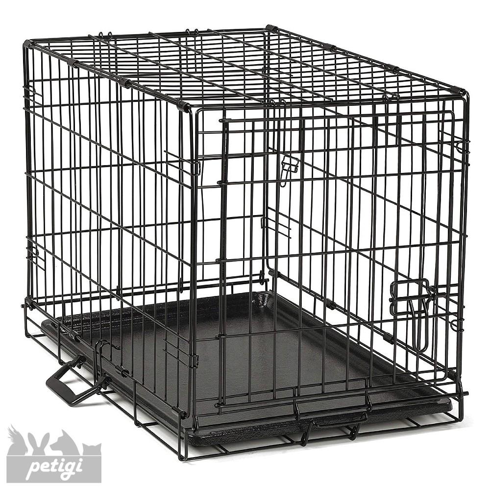 Jaula de perro plegable mascota jaula jaula transporte for Jaulas de perros