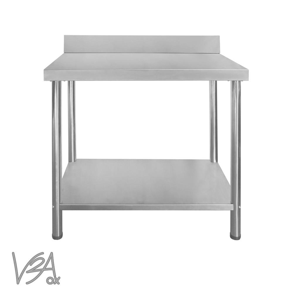 Gastro mesa de cocina mesa de trabajo regulable arista for Mesa trabajo cocina