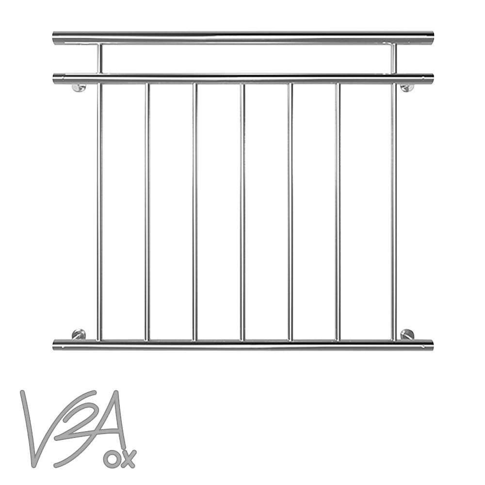 Edelstahl franz sischer balkon gel nder balkongel nder 90 - Absturzsicherung fenster vorschriften ...