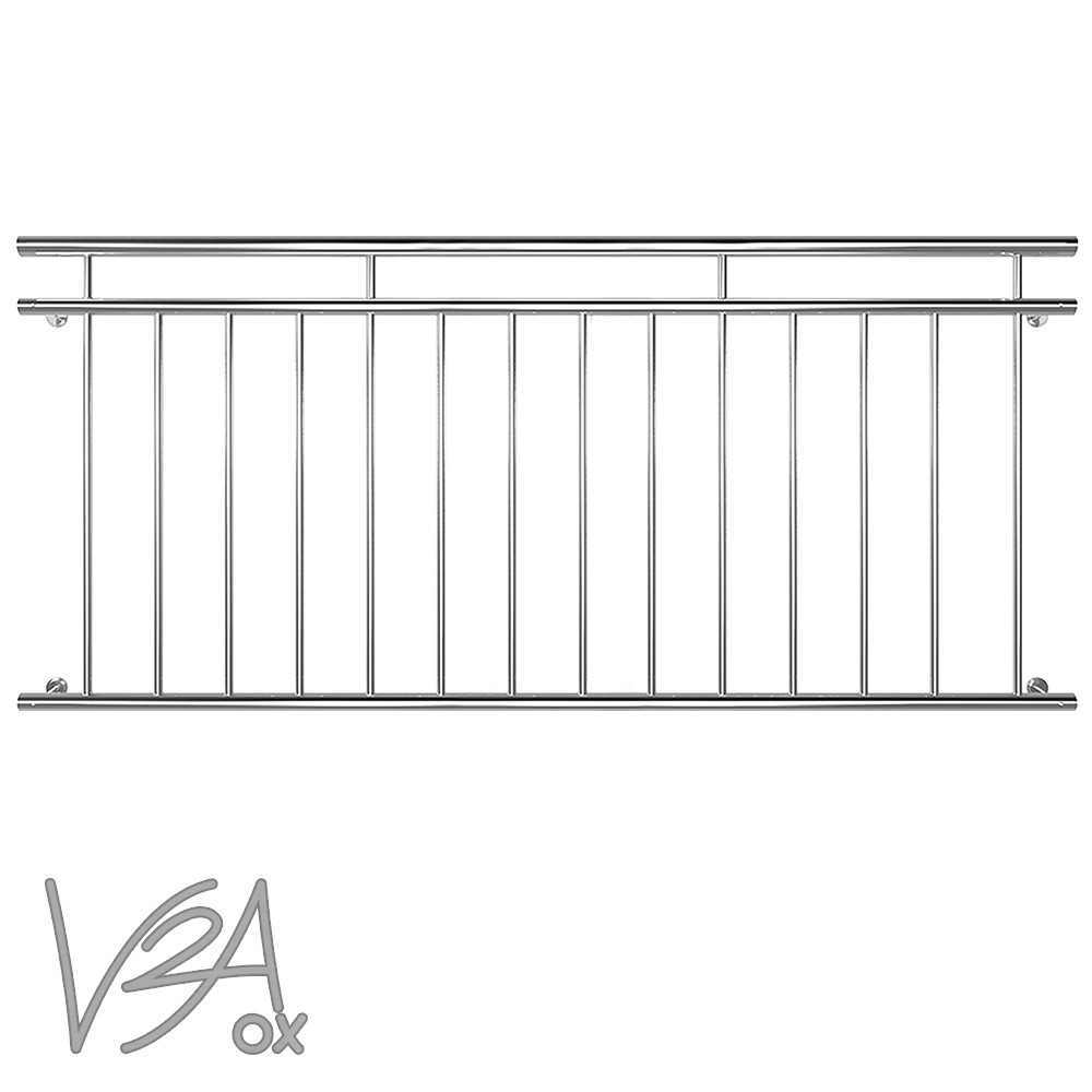 French balcony railing window grille balustrades stainless for French balcony railing