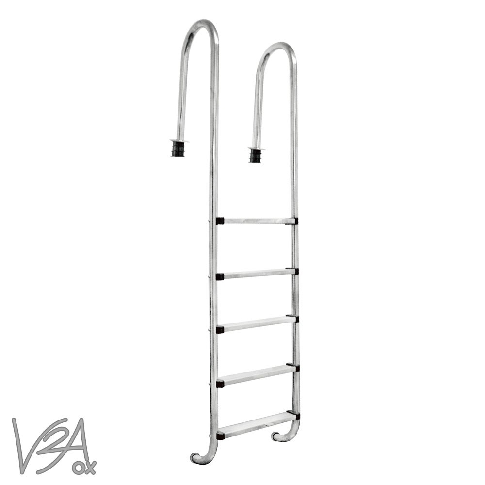V2aox acero inoxidable escalera de piscina pool piscina - Piscina acero inoxidable ...