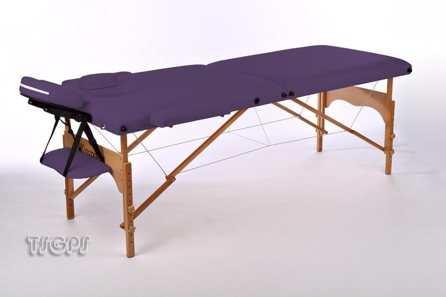 Massageliege kingpower massagebank kosmetikliege lila ebay - Table de massage pliante ebay ...
